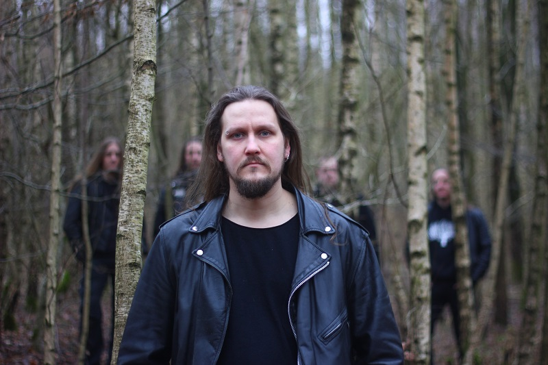 Wiedergænger, Metal-Band aus Hamburg, Leadgitarrist Jakob im Wald